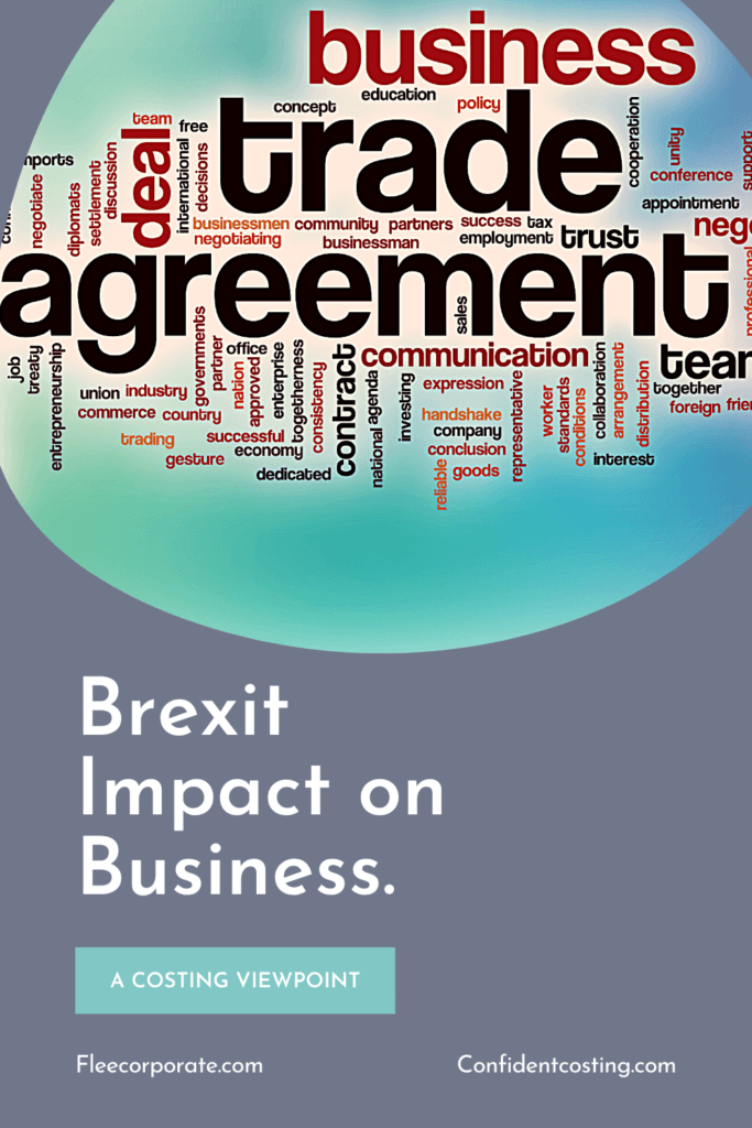 Brexit Impact on Business graphic